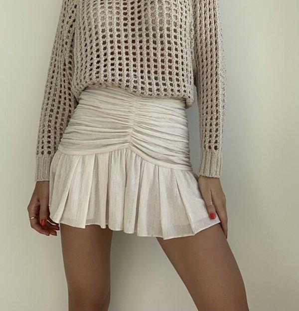 IRO Cibley Short - White/gold