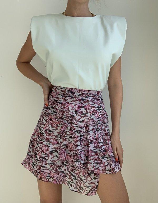 IRO Lofo skirt - Multico pink