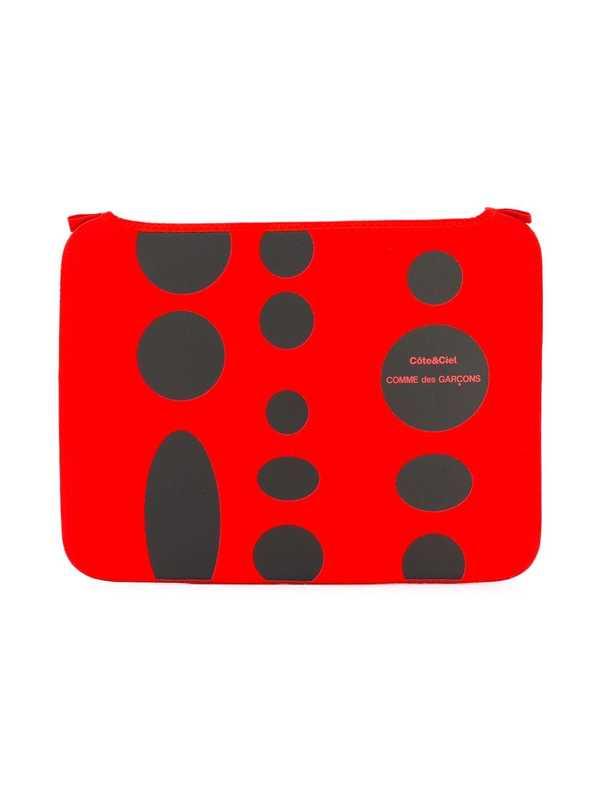 """Comme des Garçons x Côte & Ciel MacBook Pro 13"""" laptop case - Red"""