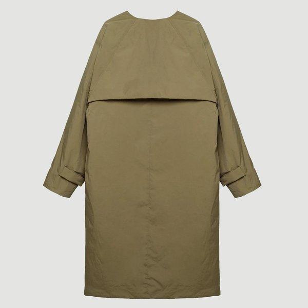 KASSL EDITIONS Tafta Padded Coat - Camel
