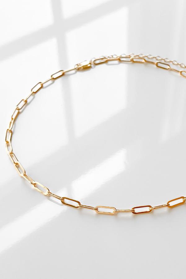 Thatch Finn Necklace - 14k gold filled