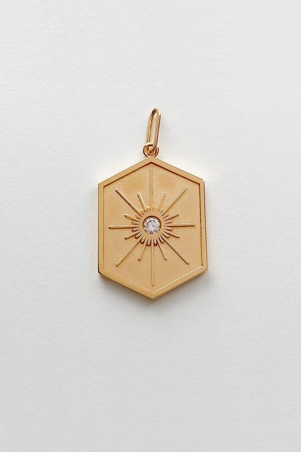 Thatch Guiding Star Charm jewelry - 14k gold vermeil