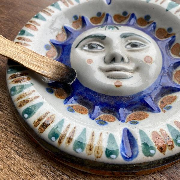 Vintage Mexican Ceramic Ashtray