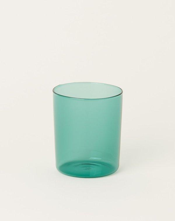 Maison Balzac Set of 4 Goblets Glasses - Teal
