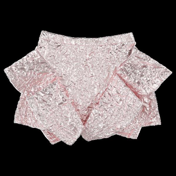 Kids caroline bosmans ruffled wrinkled crepe skirt - Pink