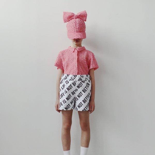 KIDS caroline bosmans shirt - rose pink