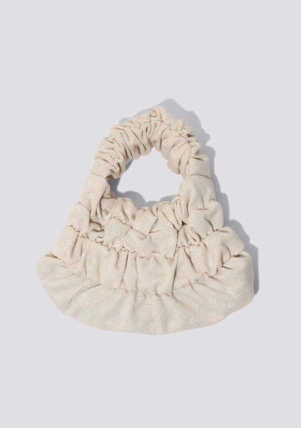 OMW Bags Nano Daisy Mini Pouch - Beige