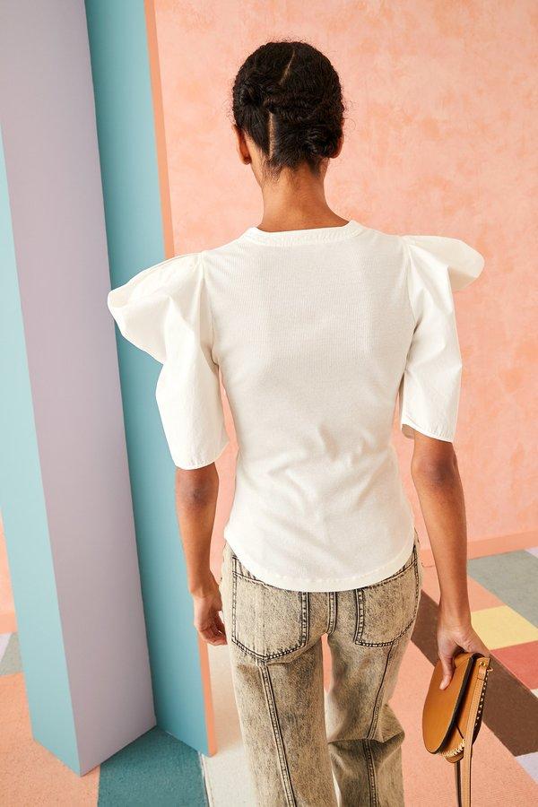 Blair Top in Blanc by Ulla Johnson