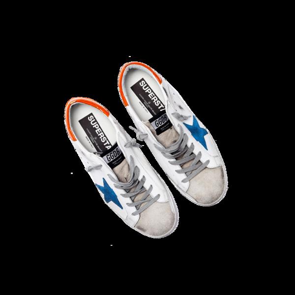 Golden Goose Sneakers Superstar Star Women G35WS590.R58 sneakers - White/Light Blue