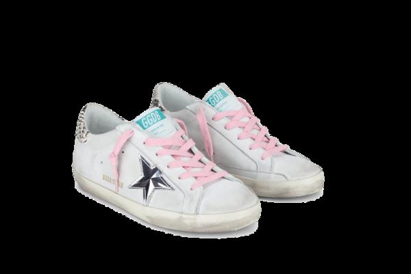 Golden Goose Superstar Nabuk-3D Star G36WS590.V38 sneakers - White