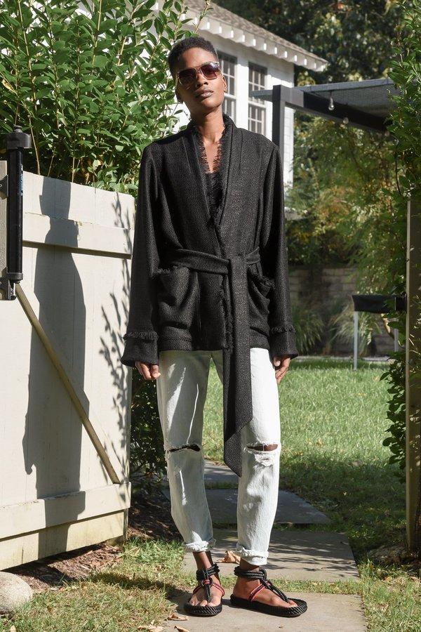 Yesaet Addis blazer - black