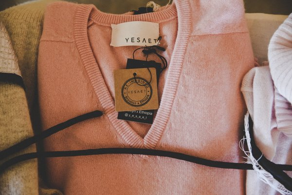 Just Peachy RE- Imagined 100% cashmere pullover