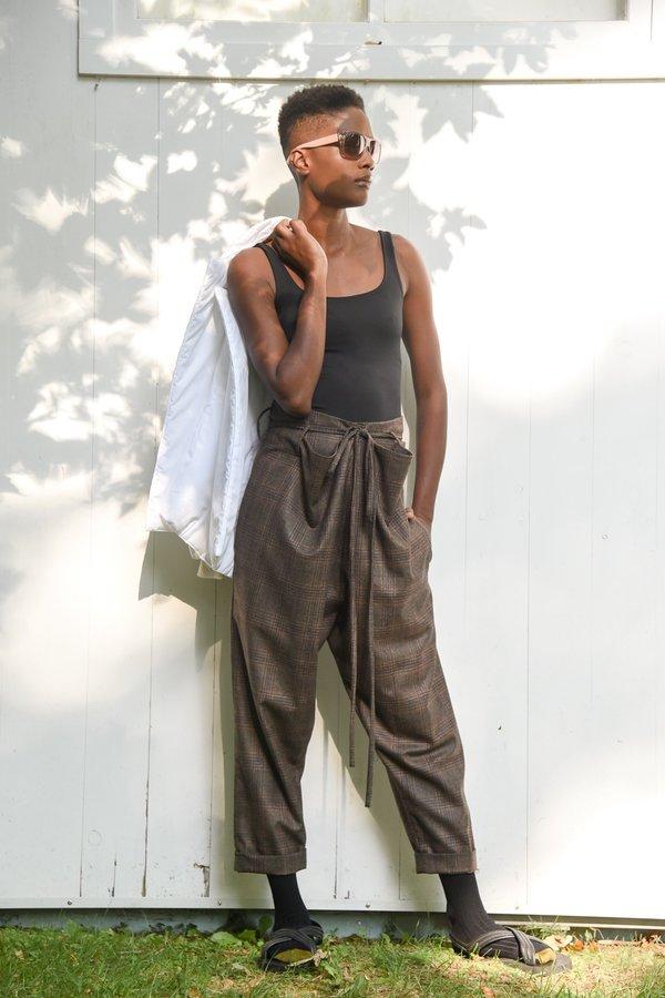Yesaet Lola Plaid high waisted pants