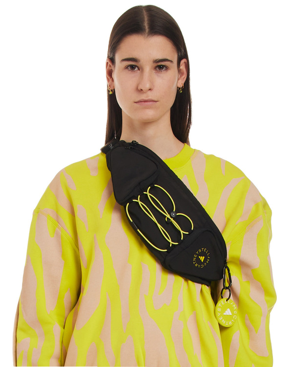 Adidas by Stella McCartney Bum print Bag - black