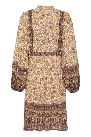 SPELL & THE GYPSY COLLECTIVE Sundown Boho Mini Dress - Spice