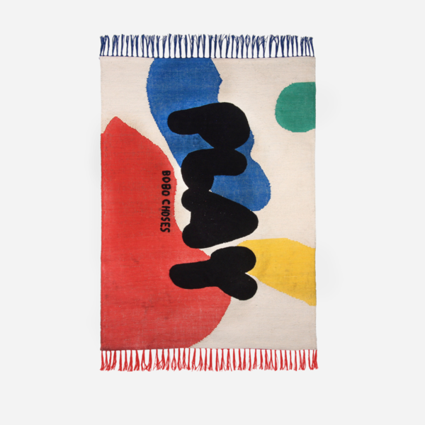 Bobo Choses Landscape Play Rug - red