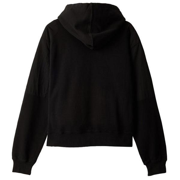 Panelled Hoodie 'Black'