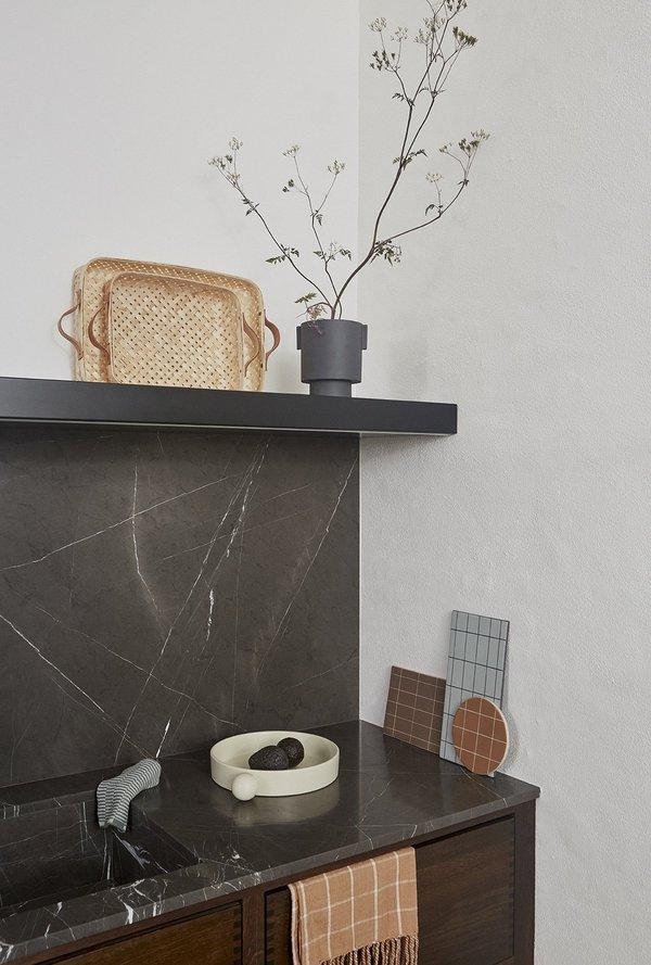 OYOY Medium Inka Kana Pot - Charcoal