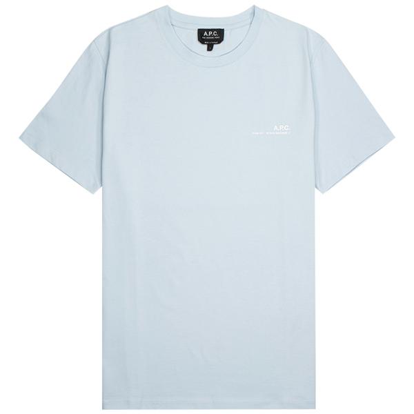 A.P.C. T shirt Item - Bleu Clair