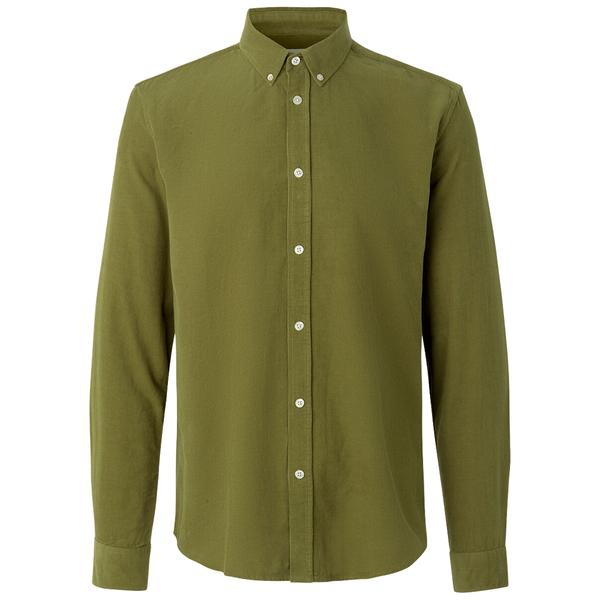 Samsoe Samsoe Liam Bx Shirt - Capulet Olive