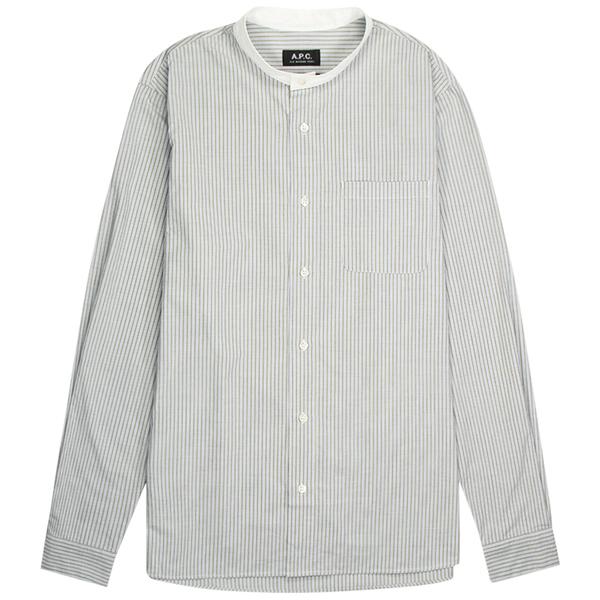 A.P.C. Chemise Mark Shirt - Green Gray