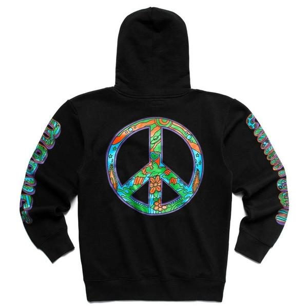 Hippie Hoodie 'Black'
