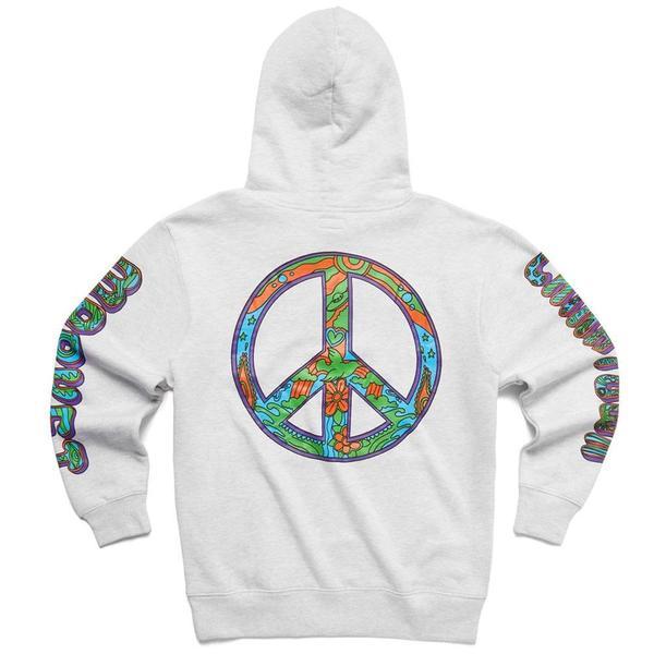 Hippie Hoodie 'Grey'