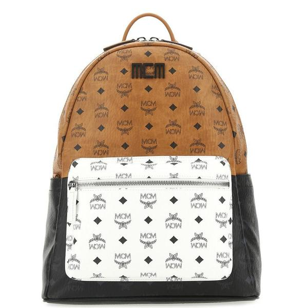 Stark Visetos Mix Backpack 'Cognac'