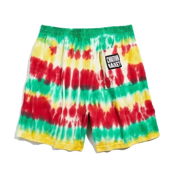Western Conference Shorts 'Green Tie-Dye'