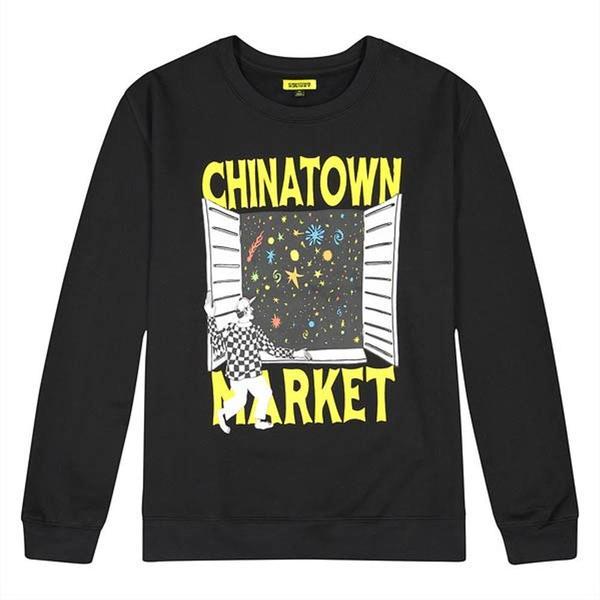 Window Crewneck 'Black'