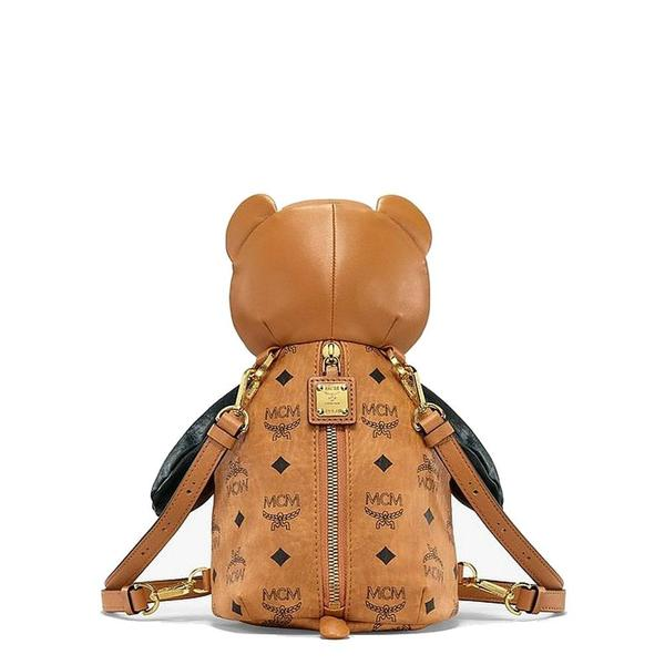 Zoo Visetos Mix Bear Backpack Mini 'Cognac'