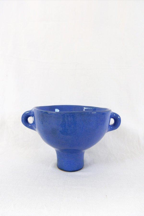 Jade Paton Large Bowl in Blue Glaze