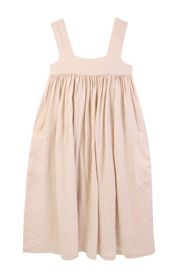 L.F.Markey Cameron Dress - Oatmeal