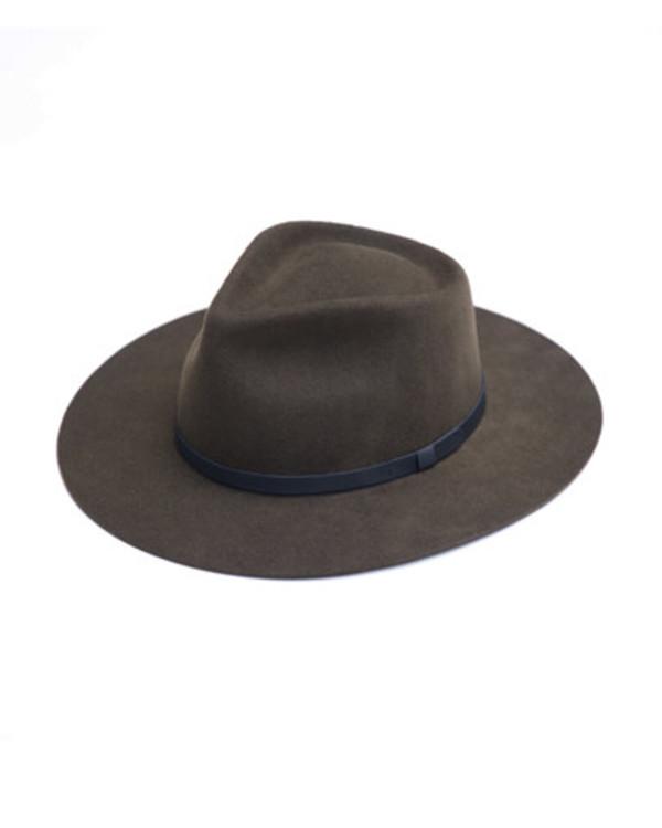 4b97bc690 Yellow 108 Dylan Hat in Dark Olive on Garmentory