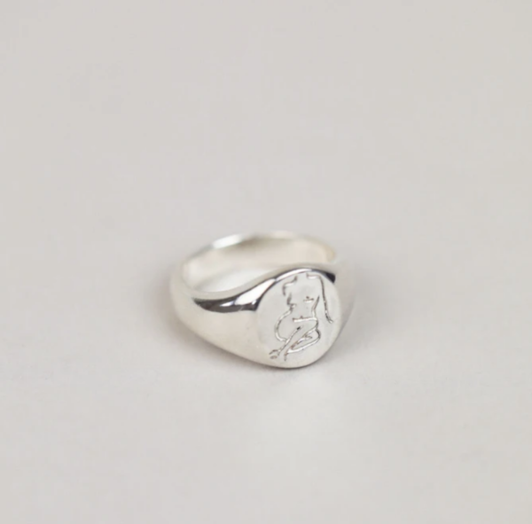 Wolf Circus Femme Ring - sterling silver