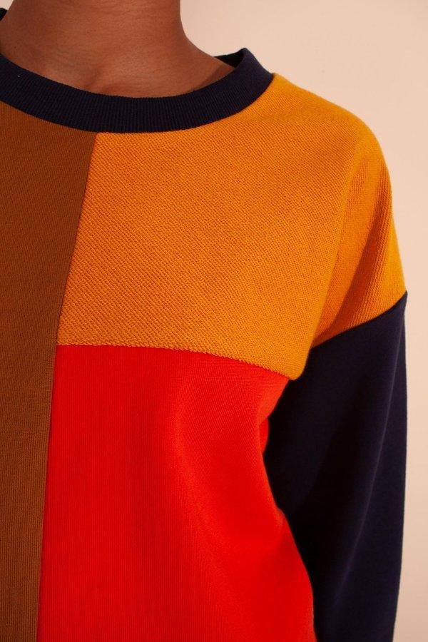 L.F.Markey Anders Sweatshirt - Patchwork