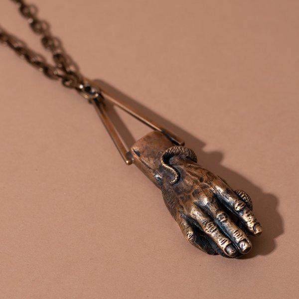 Alex Reisfar x Theeth Hand Necklace