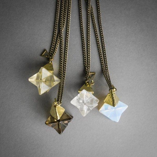 Ascension Stone Necklace - Smokey Quartz