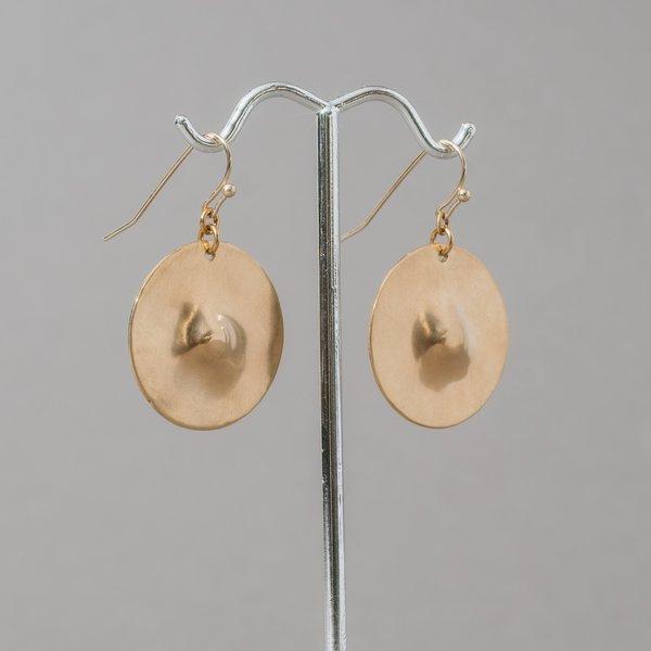 Brass Nips Earrings