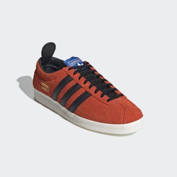 Adidas GAZELLE VINTAGE SHOES sneakers - True Orange/Core Black/Blue