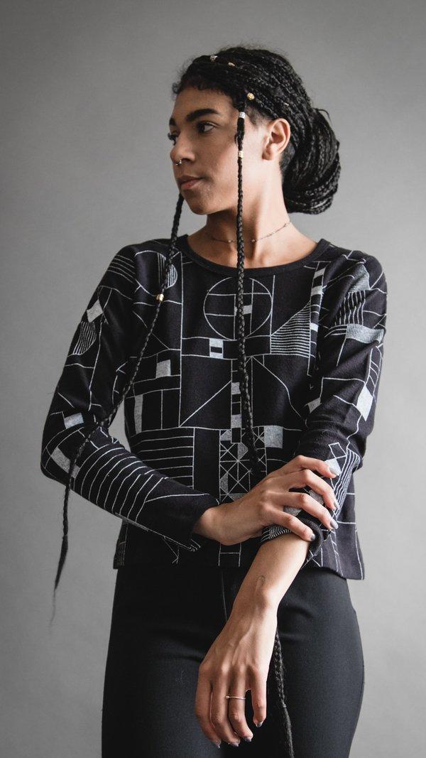 Composition #2 Sweatshirt - Black