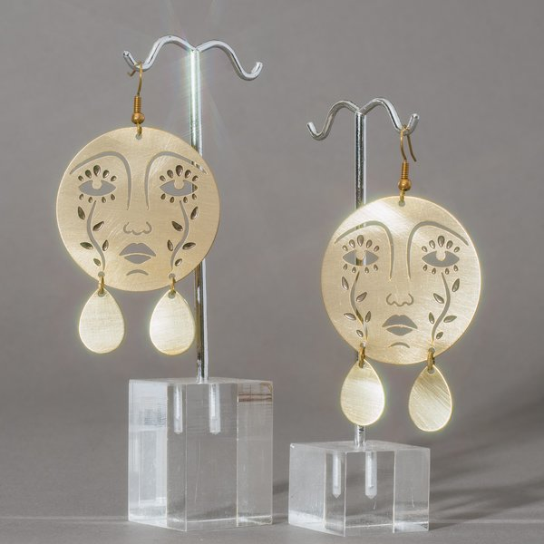 Crying Face Earrings