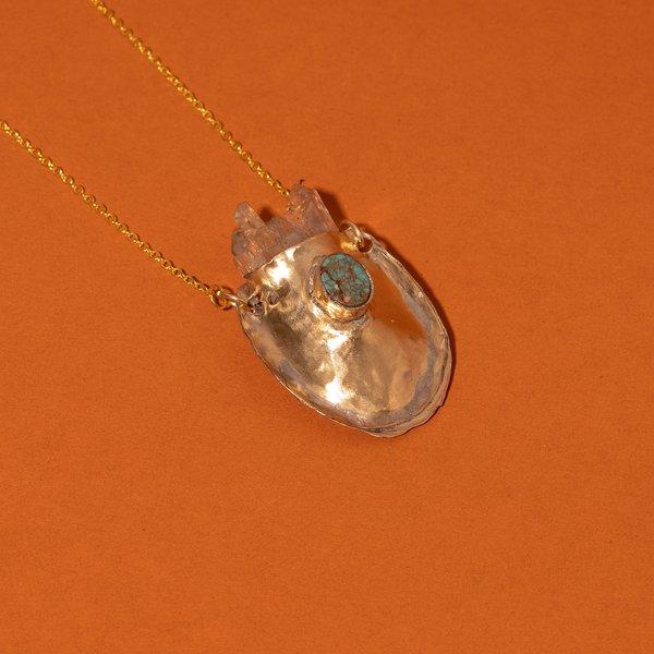 Crystal Satchel Necklace