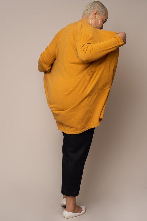 Golden Hemp Sweater Robe