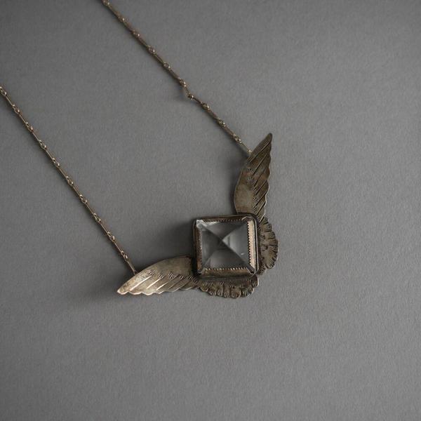 Harpy Necklace - Clear Quartz