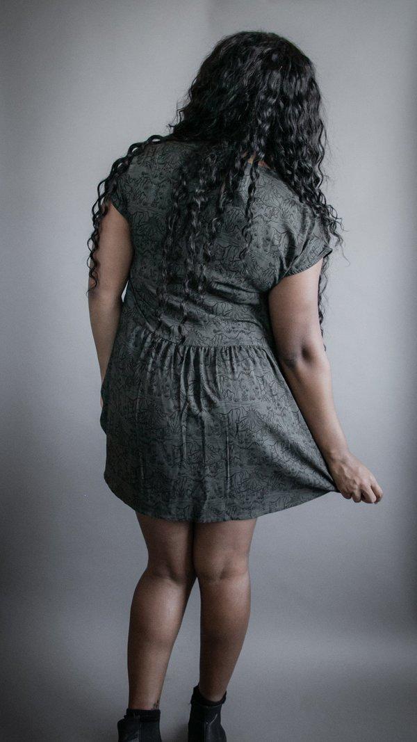 Joshua Tree Dress - Dark Green