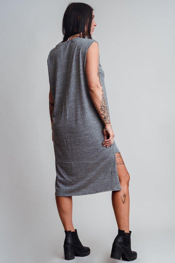 Noctex Sliver Tank Dress- Heather