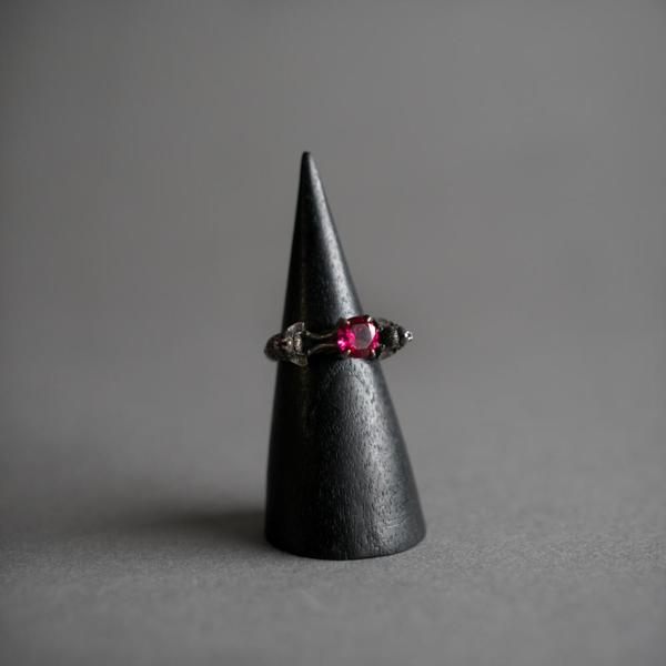 Nocturne Ring - Antiqued Silver