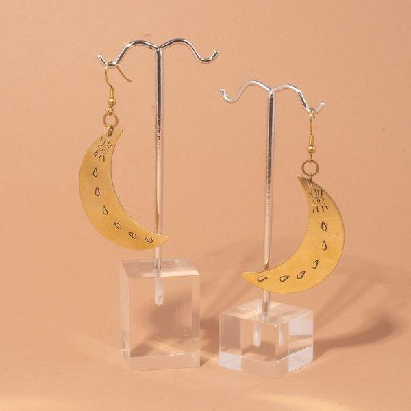 Nu Moon Earrings