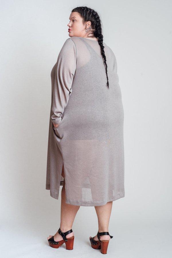 Oversized Knit Sheath Top